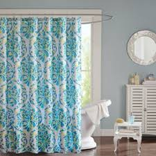 Aqua Blue Shower Curtains Teal Shower Curtains Scalisi Architects