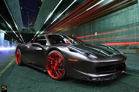 chrome ferrari 458 ferrari 458 italia savini forged sv62 savini wheels