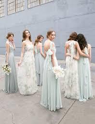 mix match bridesmaid dresses convertible floral printed mix and match bridesmaids dresses by