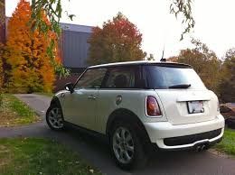 2007 cooper s u2013 15 000 u2013 white 6 sp professor u0027s car black
