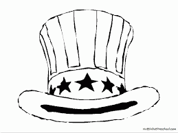 free printable top hat coloring page kids coloring