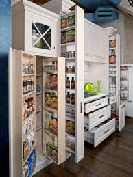 kitchen storage cabinets narrow kitchen storage and organizing ideas food network