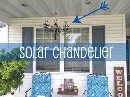 Outdoor Chandelier Diy Outdoor Solar Chandelier 87