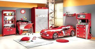 boys bedroom set with desk childrens car bedroom cool boy bedroom design with red bedroom