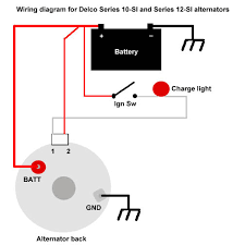 how to wire ignition switch for 3 wire alternator google search