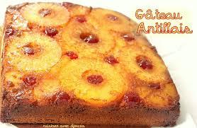 recette de cuisine antillaise facile gato zannanna gateau à l ananas antillais recettes faciles