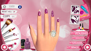 cute nail art designs game 3d beauty and manicure salon for girls