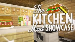 minecraft mod showcase the kitchen mod youtube
