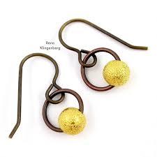 easy earrings easy hoop earrings tutorial jewelry journal
