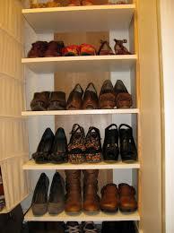 diy shoe organizer for small space home design ideas