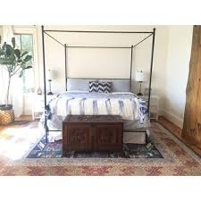 Metal Canopy Bed Lauren King Metal Canopy Bed Free Shipping Today Overstock Com