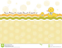 baby shower invitation card royalty free stock image image 20578846