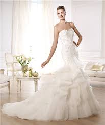 lace wedding dress with ruffles wedding dresses dressesss