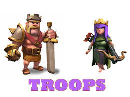 clash of clans all troops different levels of barracks and the unlockable troops in clash of clans