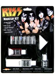 Halloween Costumes Kiss Kiss Makeup Kit Halloween Costume Kiss Band Face Makeup