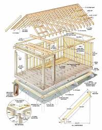 16x24 post and pier cabin build this cozy cabin diy earth news