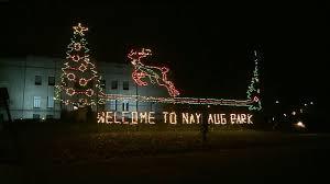 nay aug park christmas lights scranton lights up for the holiday season wnep com