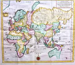 World Map Of Asia by A 1730 Map Of Asia And Australia Note The Odd Shape Of Australia