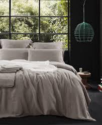 pure french linen duvet cover quilt cover set mocha u2013 macey u0026 moore