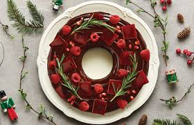 how to make an edible wreath good things