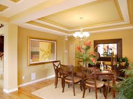 Ceiling Decorations For Living Room by Creating The Illusion Of Space With Ceiling Color Dining Room