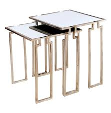 Distressed Sofa Table by Stackable Tables Cherry Nesting Bentwood Stacking Stools Also