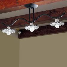 ladario per cucina classica ladario da soffitto rustico ferro e ceramica illuminazione cucina