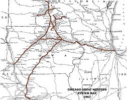 Illinois Railroad Map by Railroad System Maps