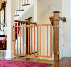 Child Safety Gates For Stairs With Banisters How To Install Stair Gates This Mama Loves