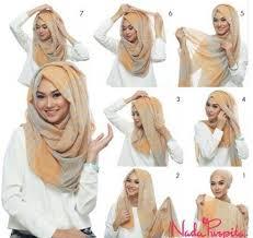 tutorial hijab paris ke pesta 12 model hijab paris segi empat trend 2017 2018 model baru