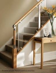 Banisters Breathtaking Glass Stair Banisters 27 For Your Modern Home Design