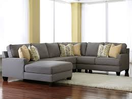 Gray Fabric Sectional Sofa Comfortable Styling With Gray Sectional Sofa Pickndecor
