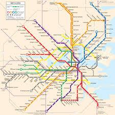 Mbta Map Commuter Rail by Charlie On The Mbta 12 31 06 1 7 07