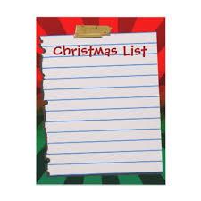 the christmas list spiritual christmas list