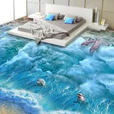 3d Bathroom Floors by Bathroom Wallpaper Designs Promotion Shop For Promotional Bathroom