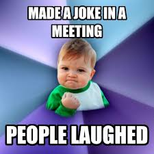 Work Meeting Meme - livememe com success kid