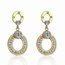 gold earring design 316l stainless steel gold earring designs buy gold