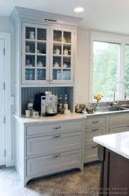 Hutch Kitchen Cabinets Bar Cabinet - Kitchen cabinet with hutch