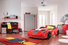 childrens bedroom sets for small rooms bedroom bed race car racing style with garage cabinet also dark