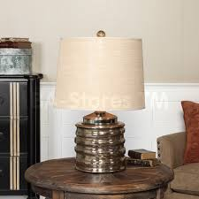 glass cylinder table l lighting beautiful mercury glass table l for home lighting ideas