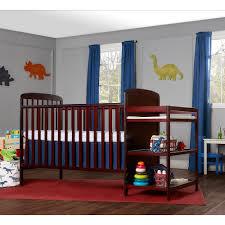 Kohls Crib Bedding by On Me 2 In 1 Crib U0026 Changing Table Set
