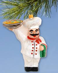 chef ornament rainforest islands ferry