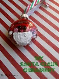 diy santa claus ornament craft thrifty jinxy