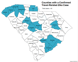 map of usa zika dhec releases map of zika cases in south carolina the battery