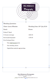 Wedding Album Cost My Own Quotation Example U2013 Aliceblakemore U2013 Medium