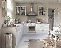 cuisines blanches et bois charmante cuisine blanche et bois castorama