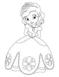 awesome princess sofia coloring coloring kids