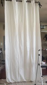 White Black Curtains Diy Black U0026 White Striped Curtains