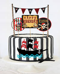 Pirate Cake Decorations Partyhunterz Indias 1 Party Supply Store Theme Parties Kids