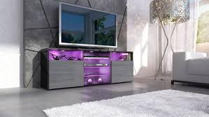 cuisine tv fr meuble tv bas granada en noir avola anthracite amazon fr